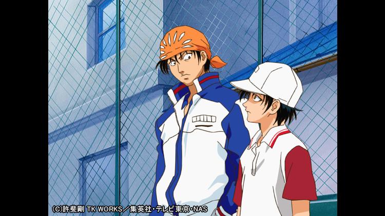 テニスの王子様 第004話
