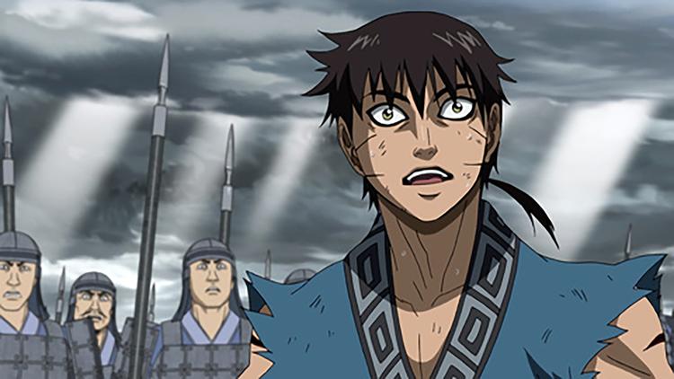 「キングダム アニメ」の画像検索結果